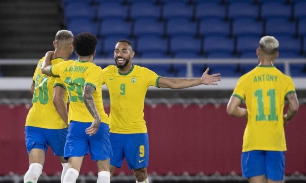 Brasil e Costa do Marfim - Seleção olímpica de futebol masculino - Jogos Olímpicos de Tóquio 2020