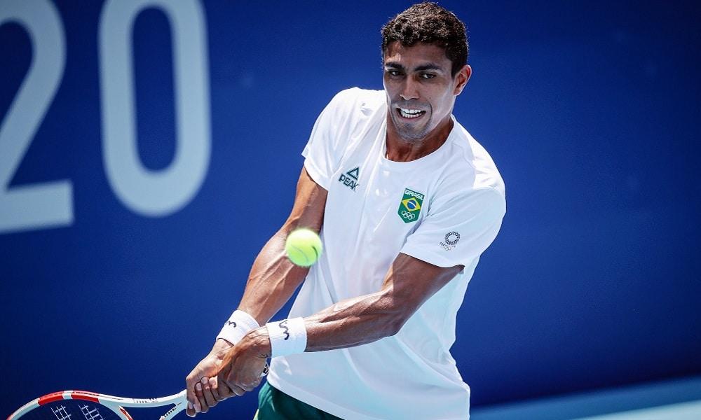 Thiago Monteiro tênis Tóquio