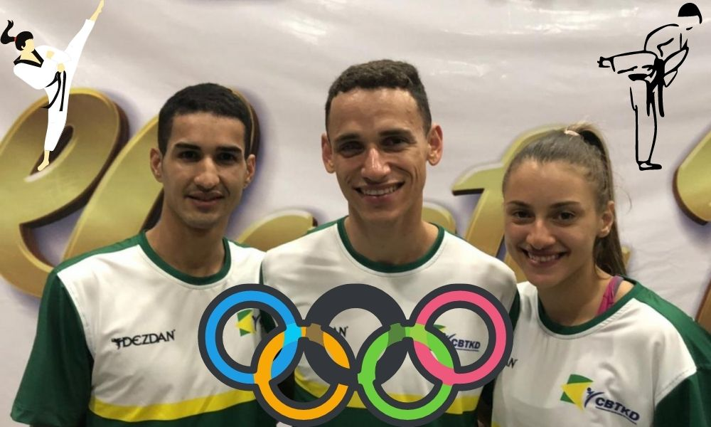 Taekwondo - Ícaro Miguel - Milenta Titonelli - Netinho - Jogos Olímpicos de Tóquio 2020
