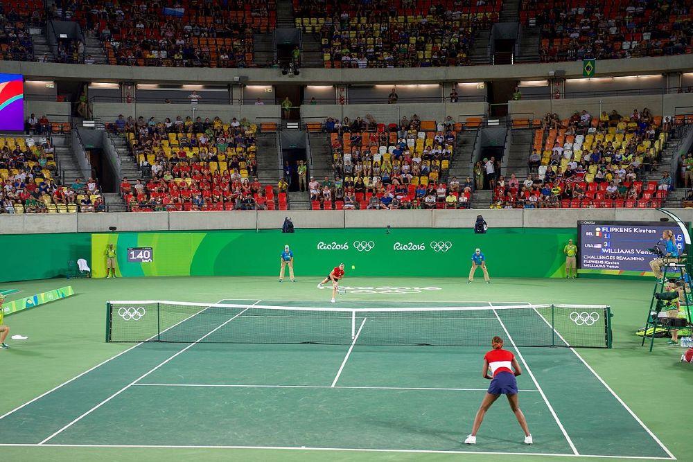 tênis simples feminina Rio 2016