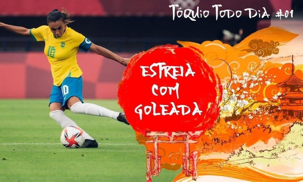 Tóquio Todo Dia #1 Resumo do dia da participação brasileira nos Jogos Olímpicos de Tóquio
