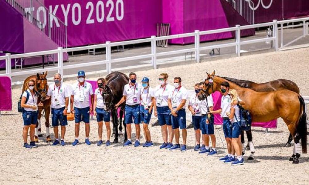 Tudo pronto para a largada do Concurso Completo de Equitação em Tóquio 2020