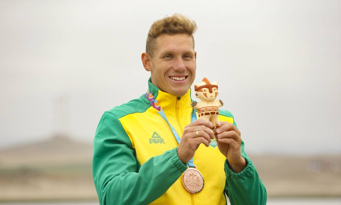 Vagner Souta - Canoagem Velocidade - K1 1000m masculino - Jogos Olímpicos de Tóquio 2020