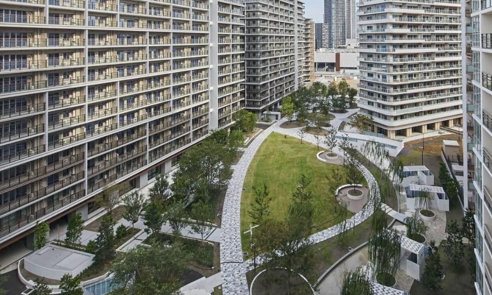 Vila olímpica Tóquio 2020 jogos olímpicos