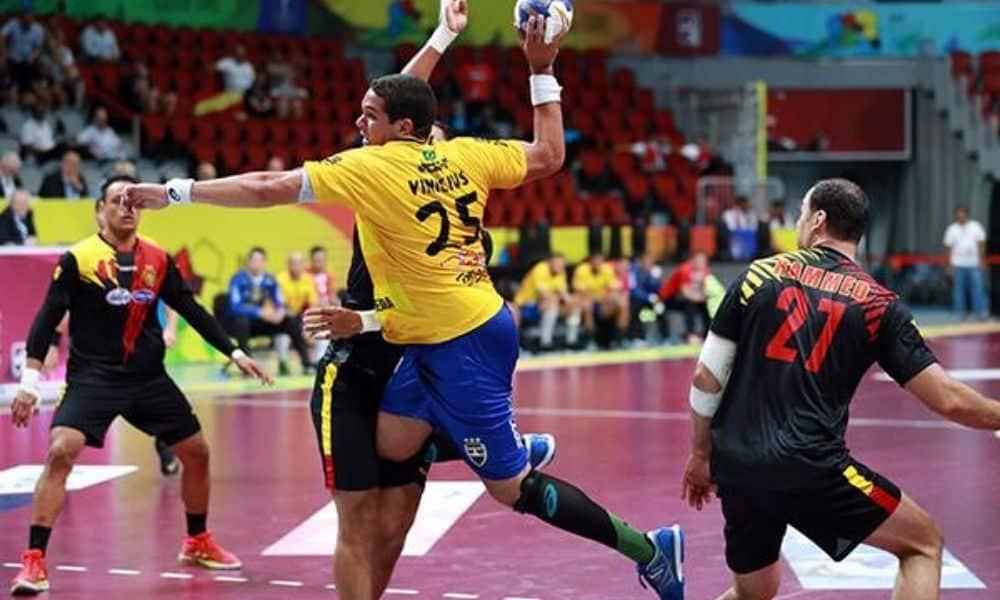 Vinícius Teixeira - seleção brasileira de handebol masculino - Jogos Olímpicos de Tóquio 2020