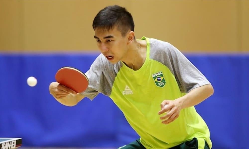 Seleção de tênis de mesa - Hugo Calderano - Bruna Takahashi