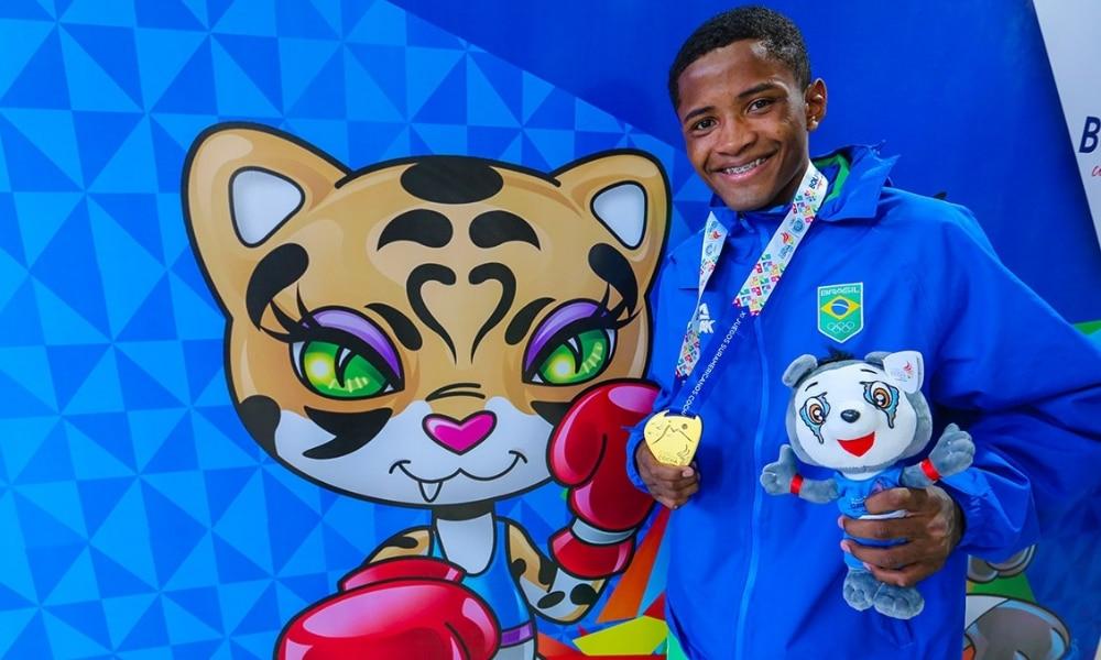 Wanderson Oliveira - Boxe - Peso leve (até 63kg) - Jogos Olímpicos de Tóquio 2020