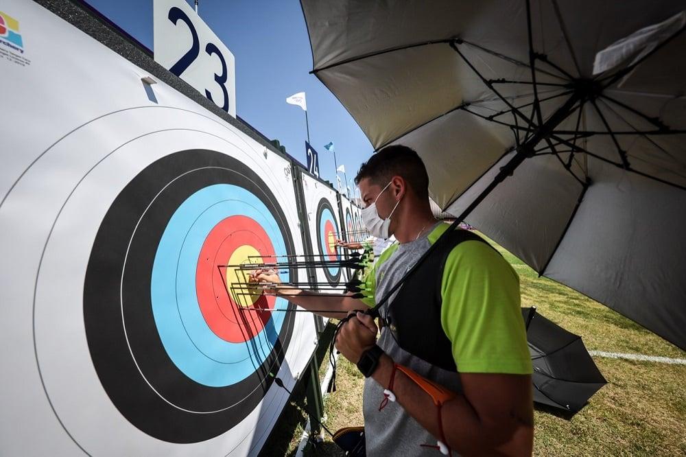 Marcus D'Almeida tiro com arco Jogos Olímpicos de Tóquio