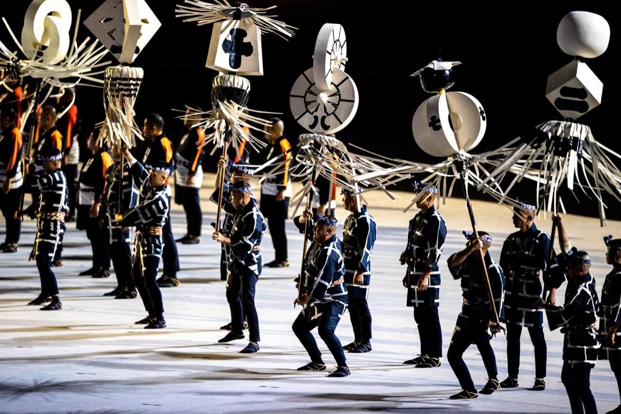 Cultura japonesa em destaque durante a cerimônia de abertura dos jogos olímpicos de tóquio