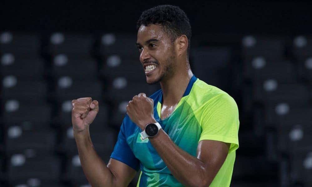 Ygor Coelho jogos olímpicos tóquio 2020 badminton