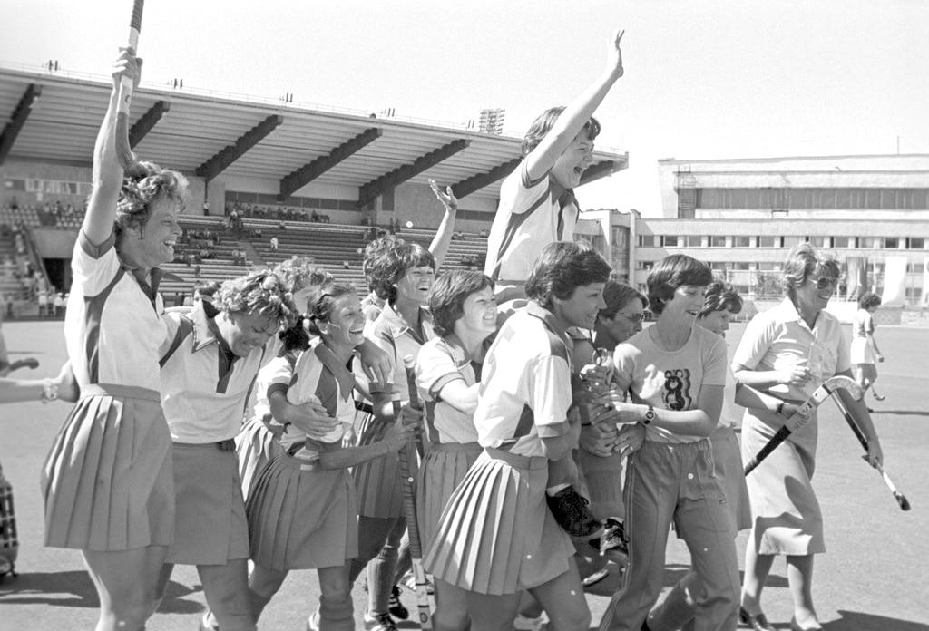 Zimbabue hóquei sobre grama Moscou 1980