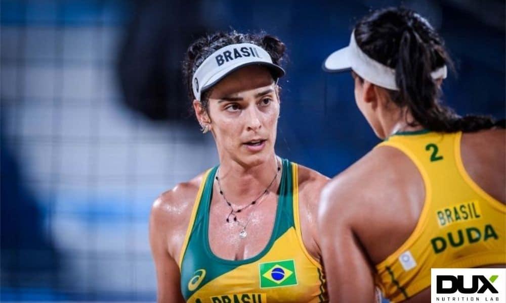 ágatha duda vôlei de praia jogos olímpicos tóquio 2020 dux