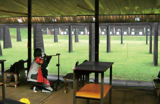 Asaka Shooting Range jogos olímpicos de tóquio tiro esportivo