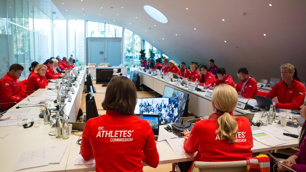 comissão de atletas COI