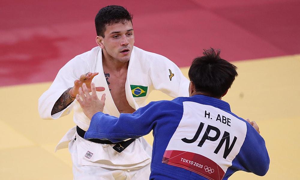 Daniel Cargnin judô Jogos Olímpicos Tóquio 2020 bronze