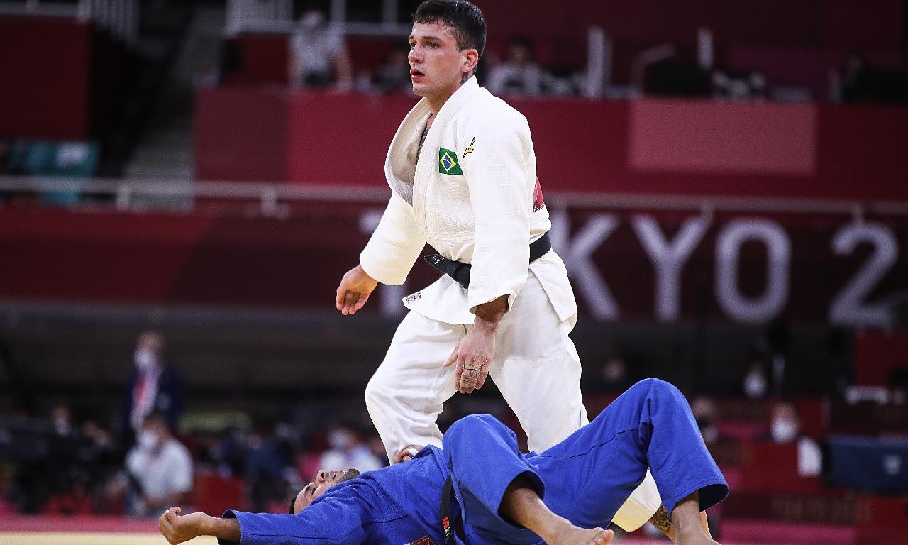 Daniel Cargnin judô Jogos Olímpicos Tóquio 2020
