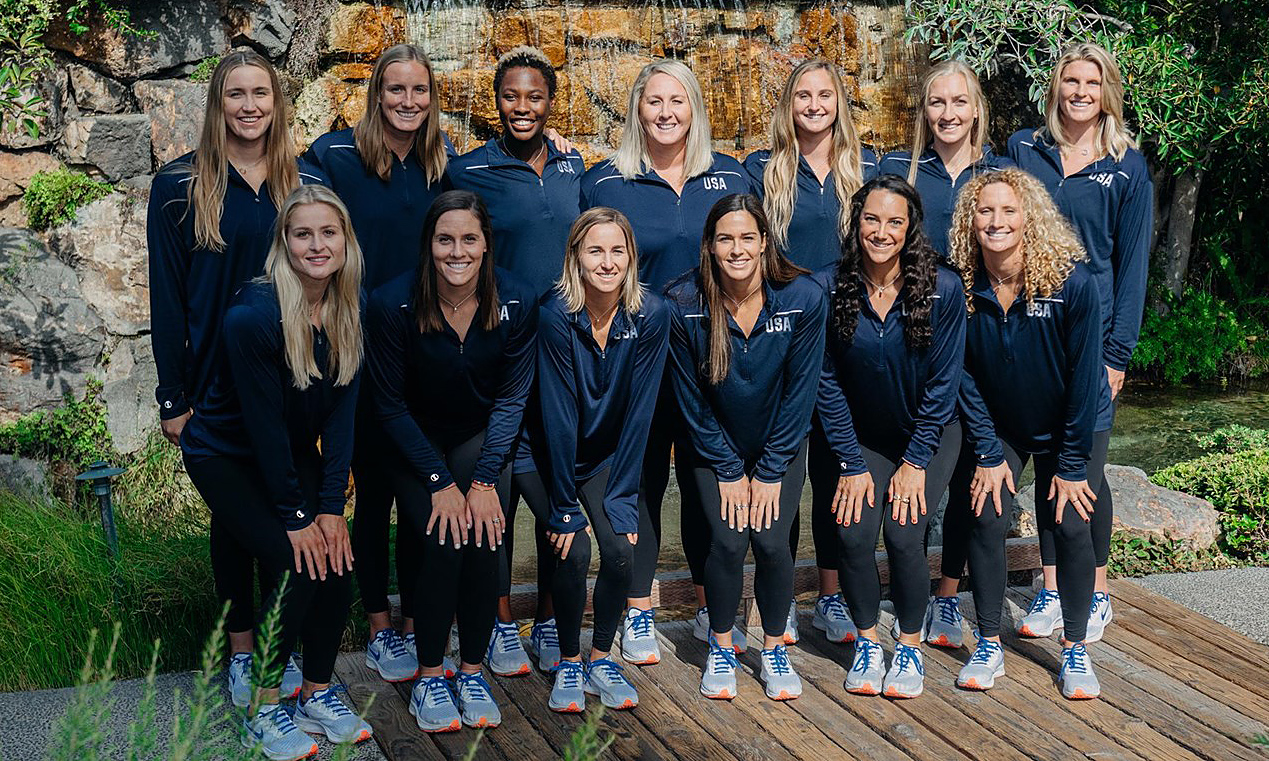 seleção Estados Unidos polo aquático feminino jogos Olímpicos Tóquio 2020
