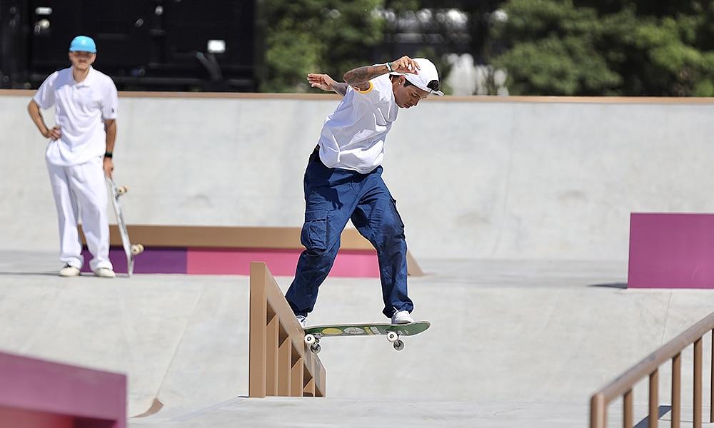 Felipe Gustavo skate street Olimpíada