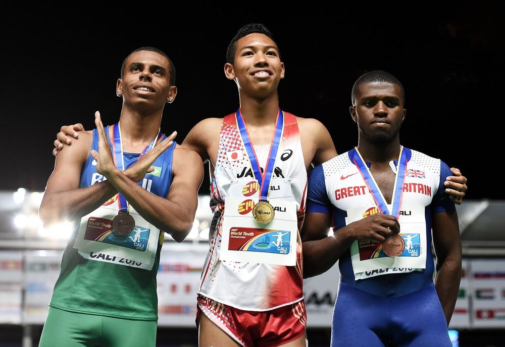 revezamento 4x100m atletismo Jogos Olímpicos de Tóquio