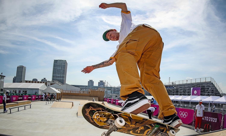 Giovanni Vianna skate street Olimpíada
