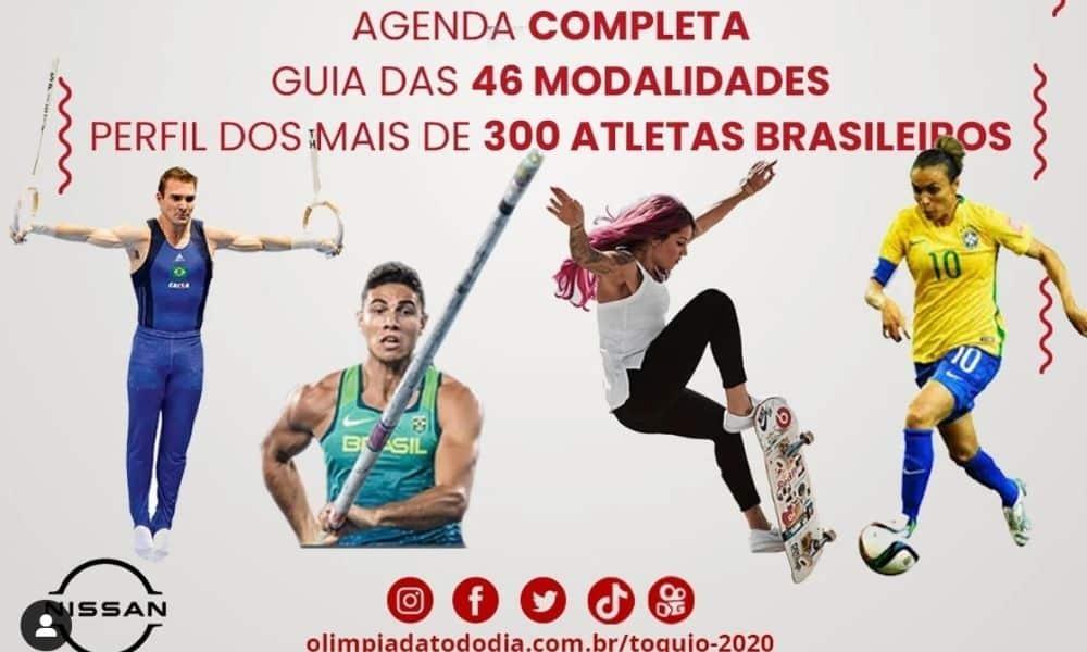 guia dos jogos olímpicos tóquio 2020