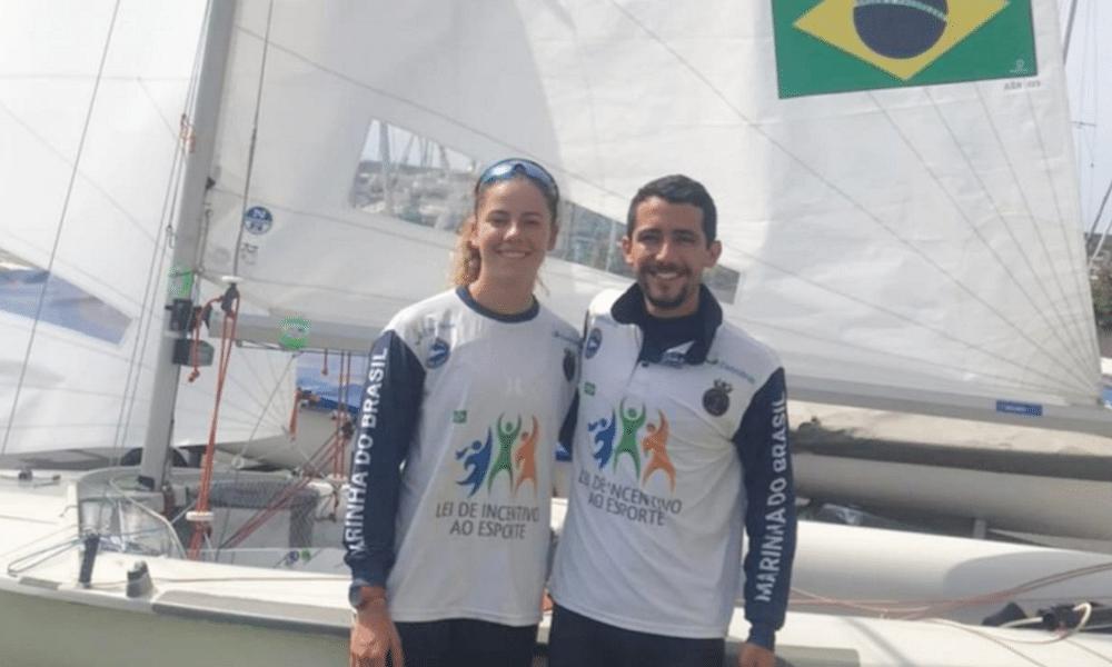 Pedro Corrêa e Isadora Dal Ri vivem dia discreto na estreia de Mundial