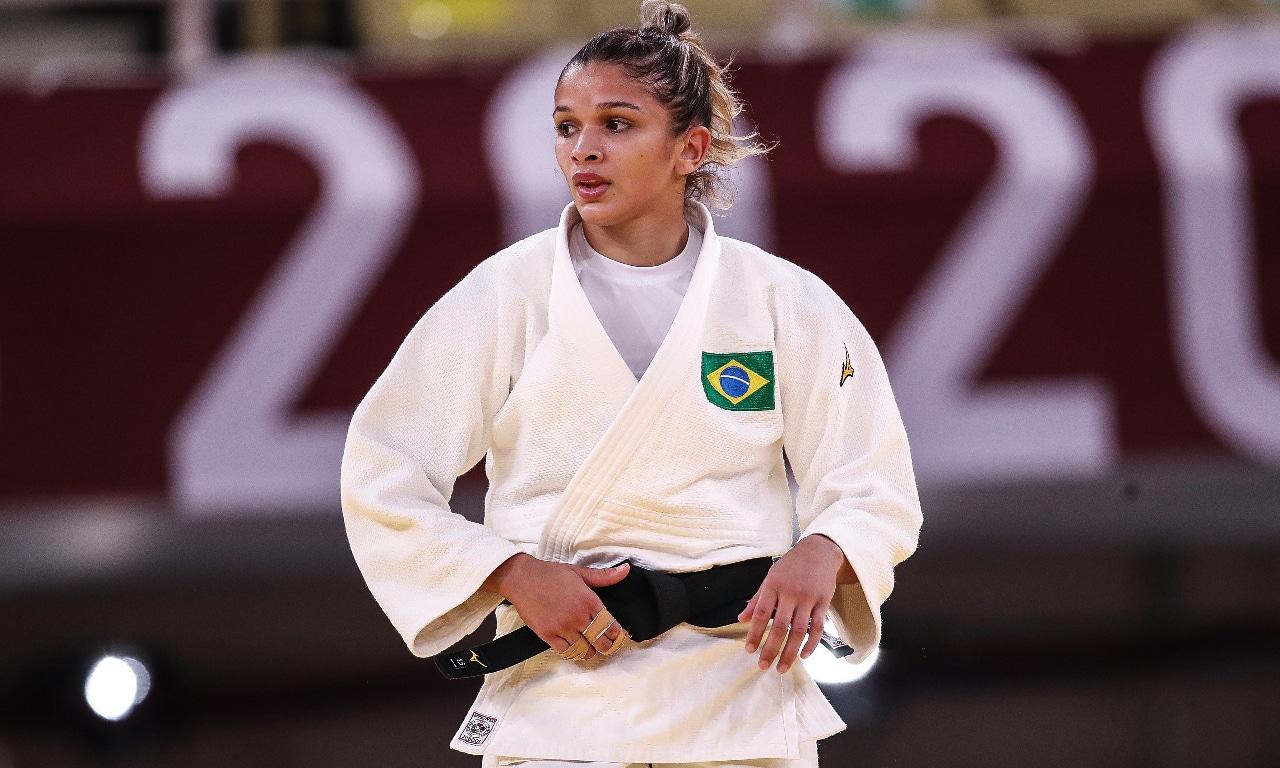 Larissa Pimenta judô Jogos Olímpicos Tóquio 2020