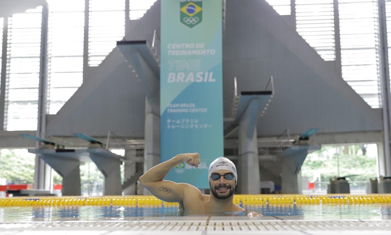 Seleção de natação tóquio Leo de Deus Leonardo de Deus