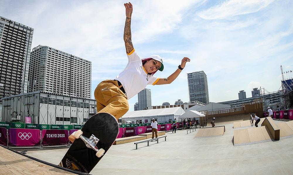 Letícia Bufoni skate street Olimpíada skate feminino SLS