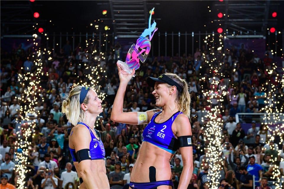 Laura Ludwig Margareta Kozuch vôlei de Praia Jogos Olímpicos World Tour Finals Roma 2019 Ágatha e Duda