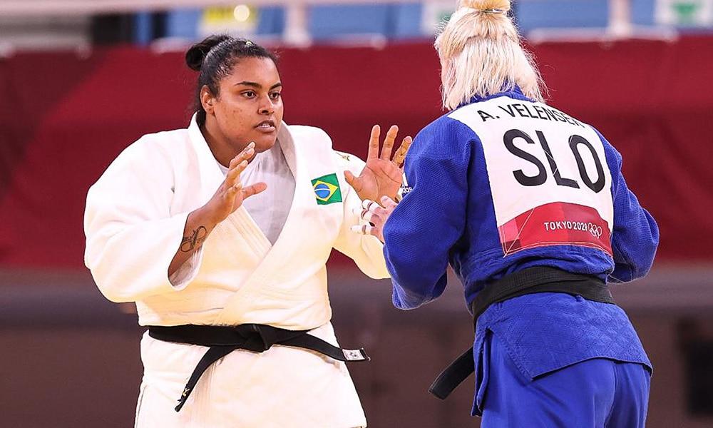 Maria Suelen Altheman judô jogos olímpicos tóquio Romaine Dicko