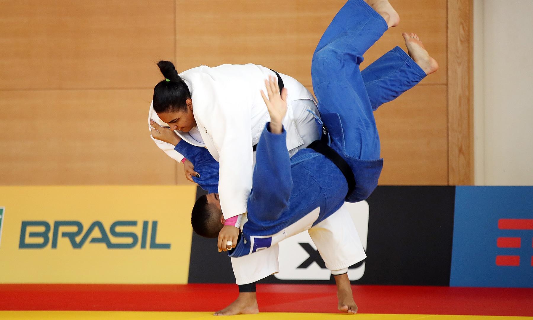 Maria Suelen Ortiz Olimpíada judô