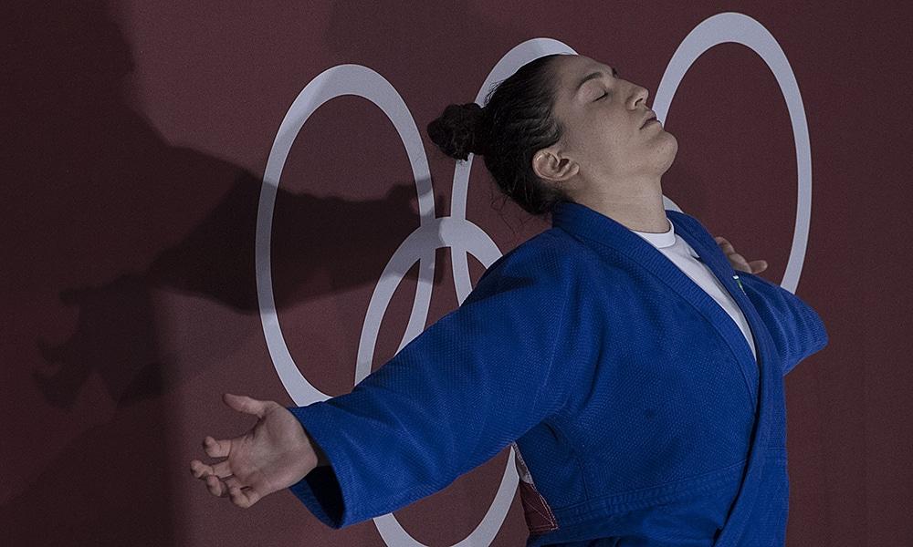 Mayra Aguiar judô medalha de bronze Tóquio