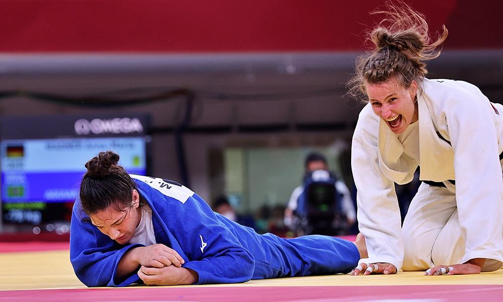Mayra Aguiar - Tóquio 2020 Jogos Olímpicos medalha bronze judô