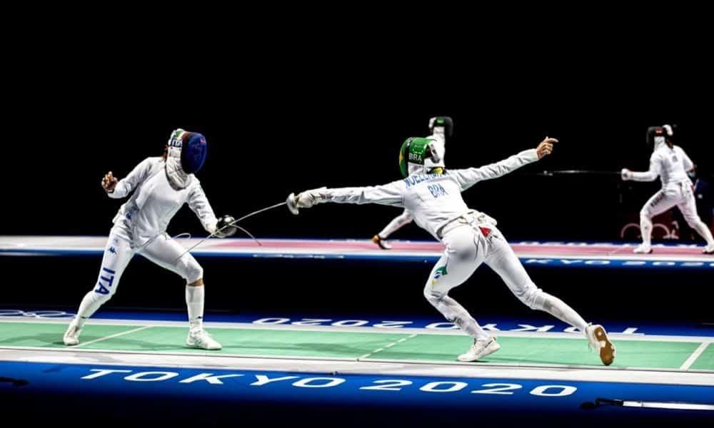 Nathalie Mollhausen esgrima Jogos Olímpicos de Tóquio Olimpíada