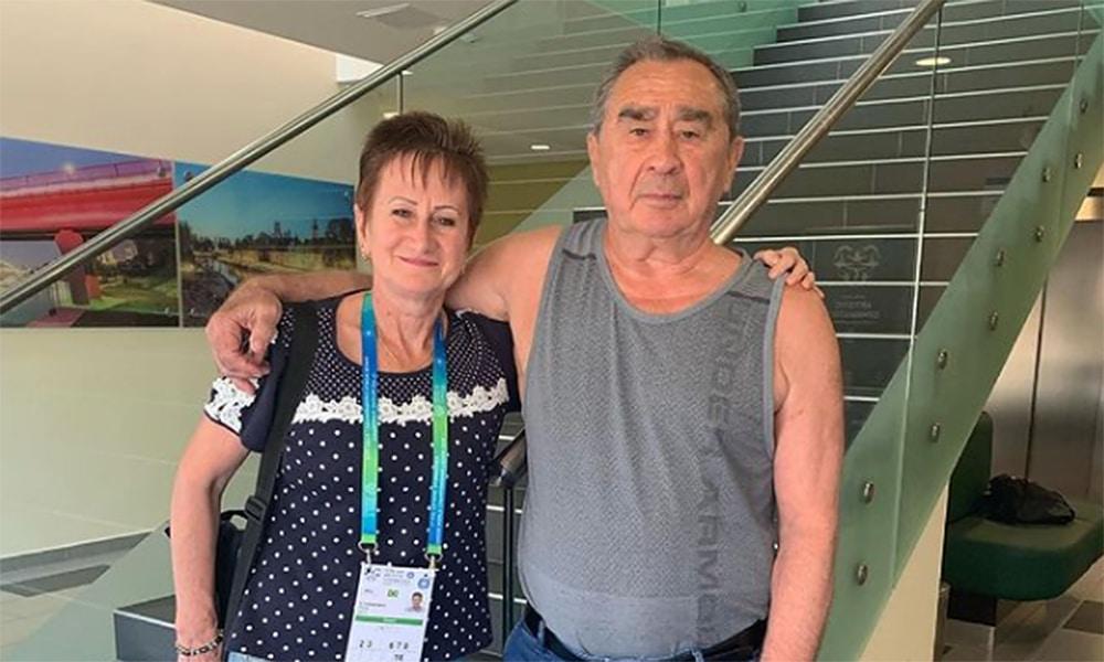 Oleg Ostapenko Diane dos Santos ginástica artística