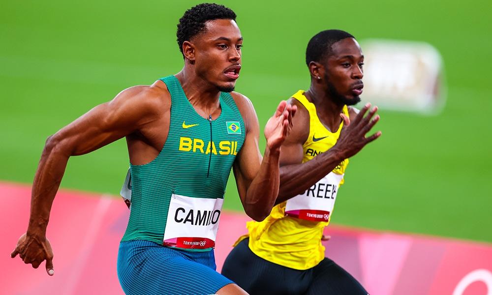 Paulo André - Atletismo - Jogos Olímpicos de Tóquio - Felipe Bardi 100m