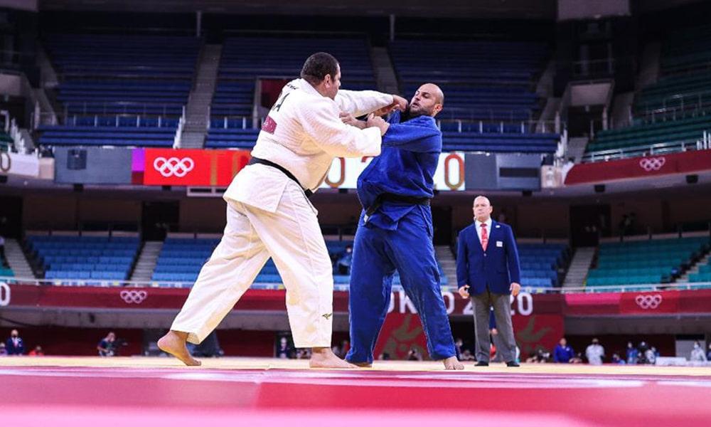 Rafael Silva Baby judô jogos olímpicos tóquio Guram Tushishvili