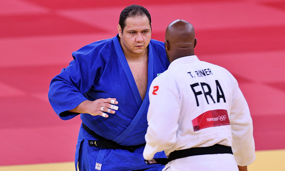 Rafael Silva Baby judô jogos olímpicos tóquio Teddy Riner