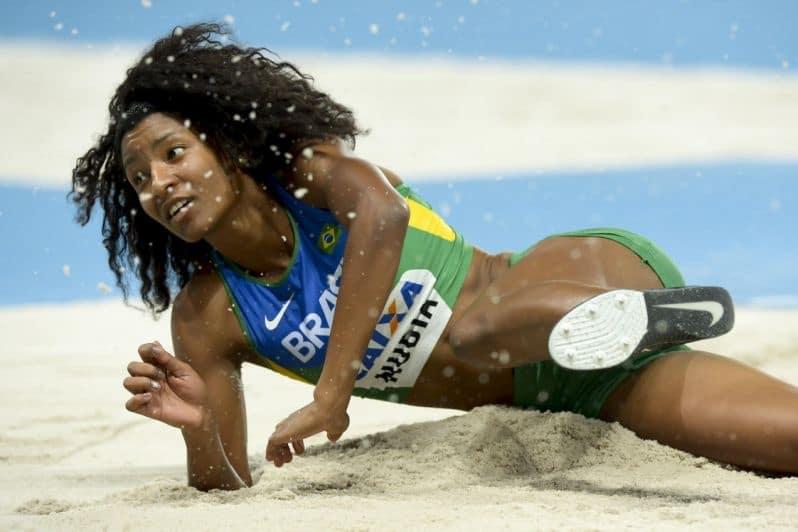 Núbia Soares - salto triplo feminino - Jogos Olímpicos de Tóquio 2020