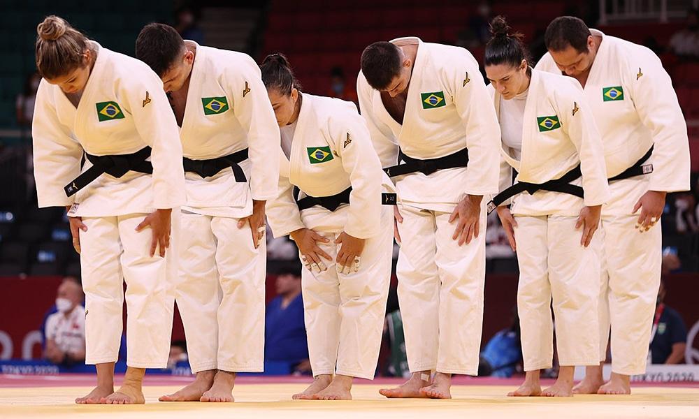 Brasil torneio por equipes judô Jogos Olímpicos seleção brasileira