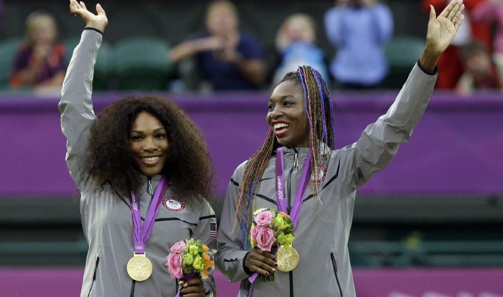 Serena Williams e Venus Williams duplas femininas