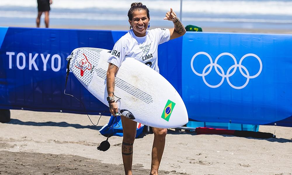 Silvana Lima Jogos Olímpicos surfe