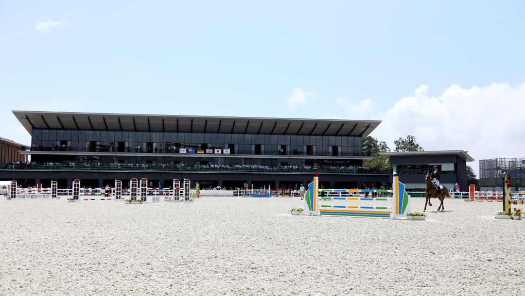 Equestrian Park hipismo jogos olímpicos tóquio