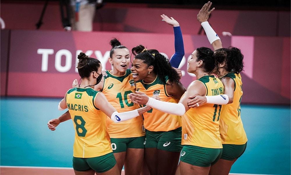 Brasil República Dominicana Jogos Olímpicos de Tóquio