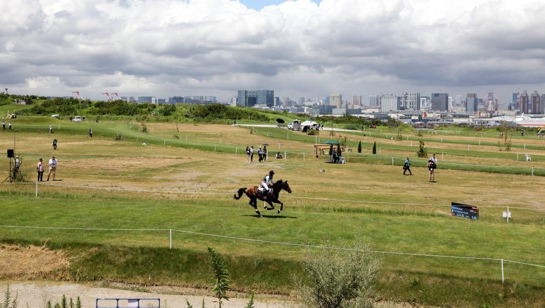 Sea Forest Cross-Country Course hipismo olimpíada tóquio 2020