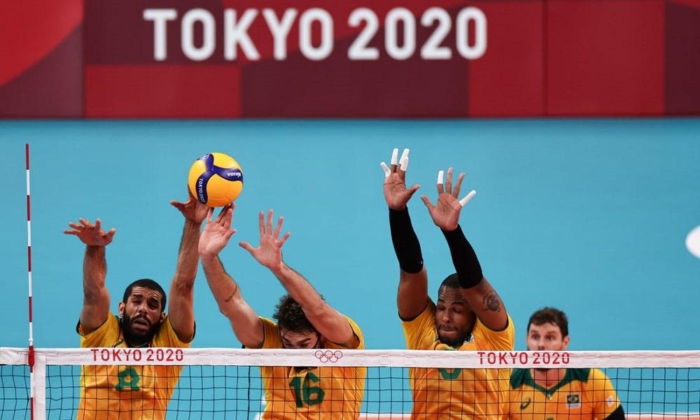 quartas de final Tóquio vôlei masculino Brasil x Japão
