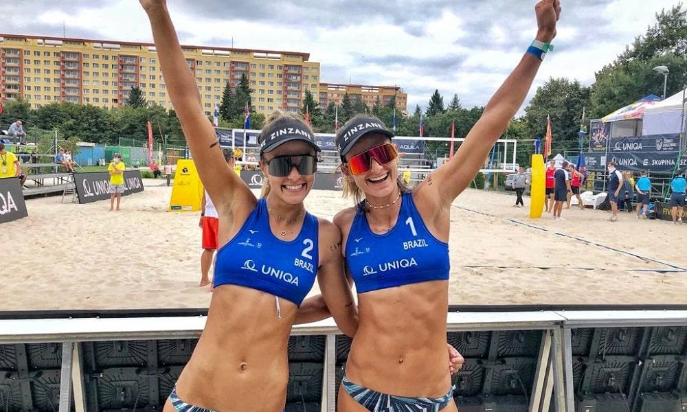 Thamela e Elize Maia passaram do qualifying do Circuito de vôlei de praia nesta quinta