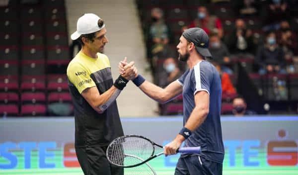 No ATP 250 de Winston-Salem, tanto Marcelo Melo quanto Marcelo Demoliner venceram e estão nas quartas de final com suas respectivas duplas