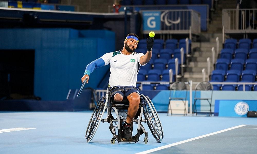 Tênis em cadeira de Rodas Brasil Tóquio Paralímpiada
